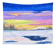 Snow Storm Tapestry