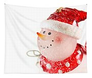 Snowman Figure Tapestry