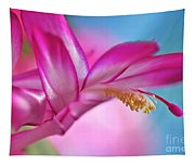 Soft And Delicate Cactus Bloom Tapestry