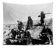 Soldiers And Scouts Tapestry