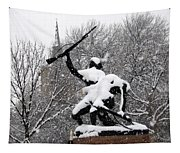 Soldiers In The Snow Tapestry