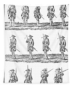 Soldiers: Infantry Drill Tapestry