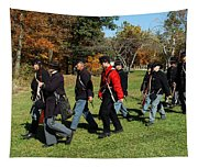 Soldiers March Color Tapestry