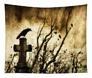 Soulful Crow Tapestry