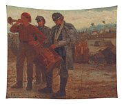 Sounding Reveille Tapestry