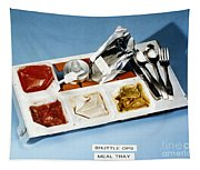 Space: Food Tray, 1982 Tapestry
