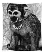 Space Monkey: Baker, 1979 Tapestry