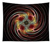 Spin Fractal Tapestry