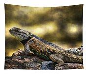 Spiny Lizard Tapestry