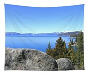 Splendid Lake Tahoe Tapestry