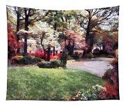 Spring In The Neighborhood Tapestry