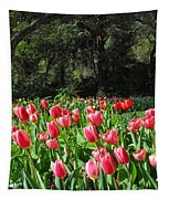 Spring Tulips 1 Vertical Tapestry