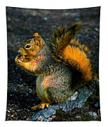 Squirrel At Riverfront Park Tapestry