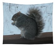 Squirrel Snack Tapestry
