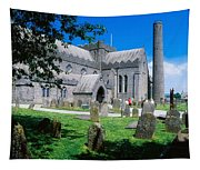 St Canices Cathedral &, Round Tower Tapestry