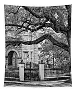St. Charles Ave. Monochrome Tapestry