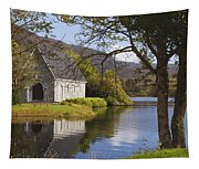 St. Finbarres Oratory On Shore Tapestry