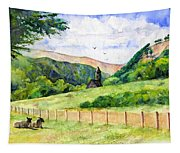 St. Kevin's And Wicklow Mountians Tapestry