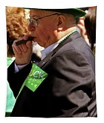 St Pattys Green Tapestry
