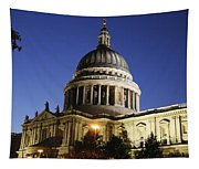 St Pauls Cathedral At Dusk, Exterior Tapestry
