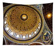 St Peter's Basilica Dome  Tapestry