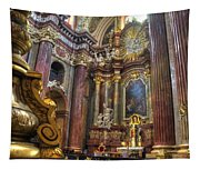 St Stanislaus - Posnan Poland Tapestry
