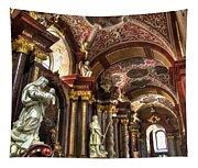St Stanislaus Church - Posnan Poland Tapestry