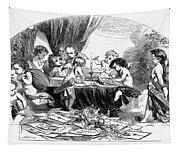 St. Valentines Day, 1856 Tapestry
