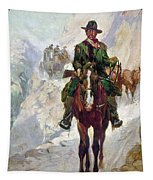 Stagecoach Travel, 1906 Tapestry
