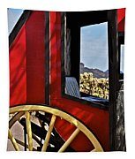 Stagecoach View Tapestry