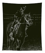 Stand Out Glowing Duo Tapestry