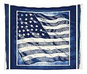 Star Spangled Banner Blue Tapestry