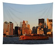 Staten Island Ferry 3 Tapestry