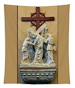 Station Of The Cross 05 Tapestry