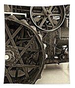 Steam Power Monochrome Tapestry