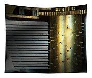 Steampunk - Gears - Music Machine Tapestry