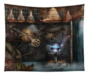 Steampunk - Industrial Society Tapestry