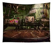 Steampunk - Naval - This Is Where I Do My Job Tapestry