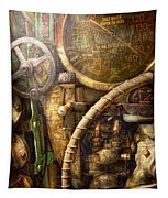 Steampunk - Naval - Watch The Depth Tapestry