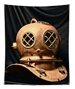 Steampunk - Diving - Diving Helmet Tapestry