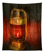 Steampunk - Red Light District Tapestry