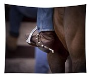 Stockhorse And Spurs Tapestry