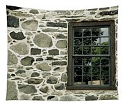 Stone Wall With A Window Tapestry