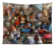 Store - The Busy Marketpalce Tapestry
