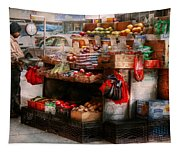 Store - Ny - Chelsea - Fresh Fruit Stand Tapestry