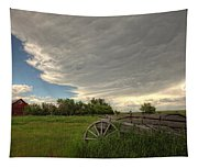 Storm Clouds Gather Over An Abandoned Tapestry