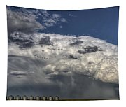 Storm Clouds Thunderhead Tapestry