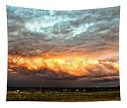 Storm Glow Tapestry