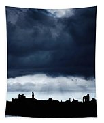 Storm Over City, Tyne And Wear, England Tapestry
