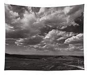 Stormy Wyoming Sky Tapestry
